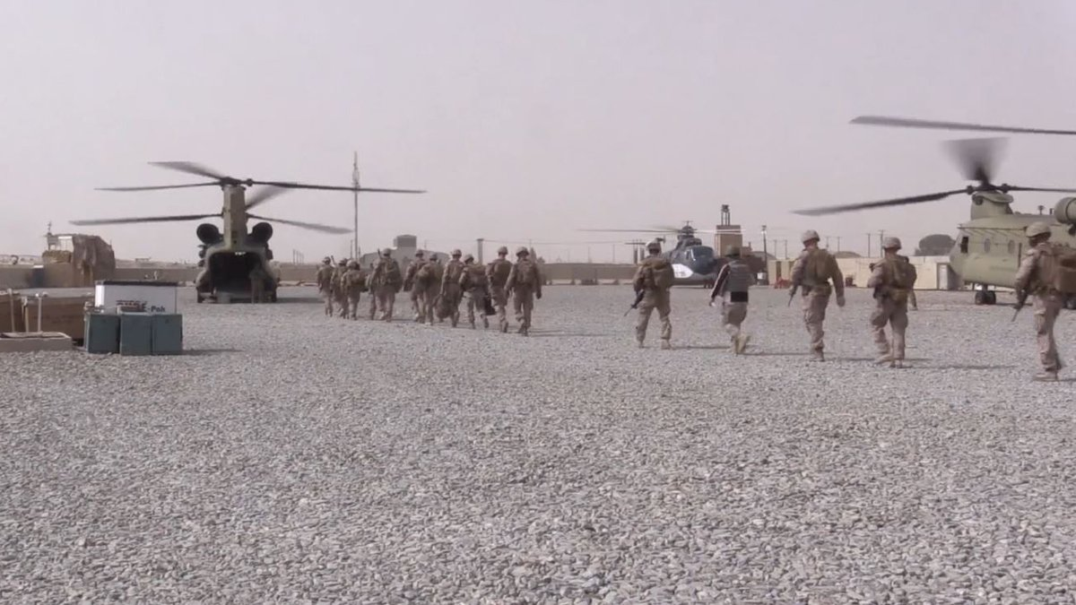 FILE - The U.S. military has begun its withdrawal from Afghanistan.