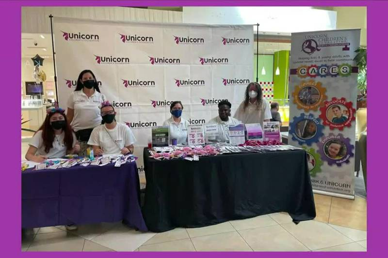 Students at the Unicorn Children's Foundation in Boca Raton and getting ready to debut a brand...