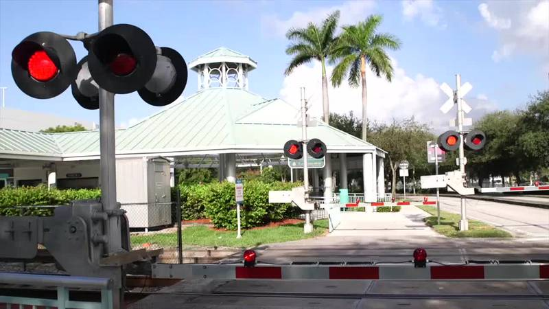 """Tri-Rail is proud to present its """"Look Both Ways"""" campaign to reminds drivers and pedestrians..."""