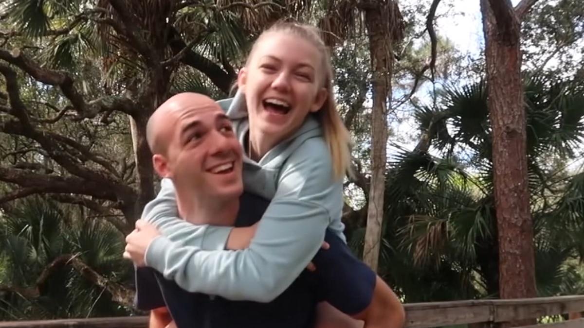 Brian Laundrie and Gabrielle Petito