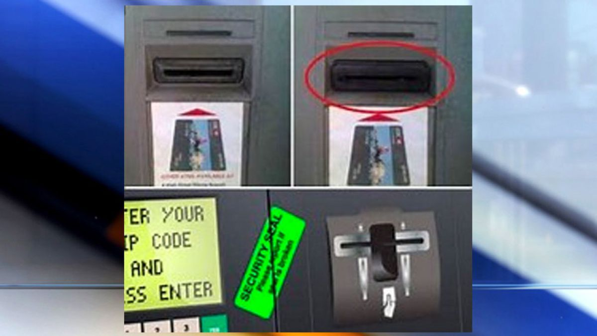 The warning comes after the sheriff's office said a credit card skimmer was found at a local...