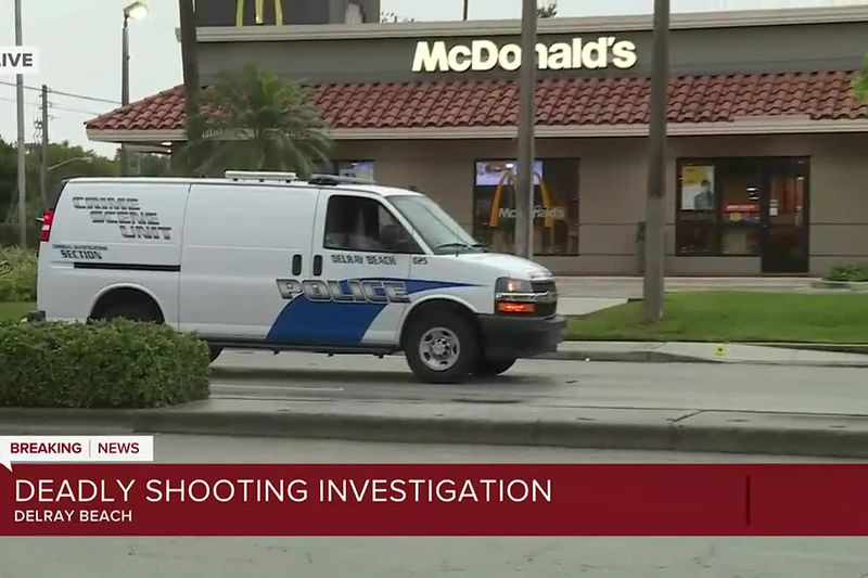 Man found shot to death outside McDonald's