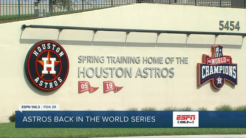 The World Series gets underway today between the Atlanta Braves and Houston Astros, and it has...