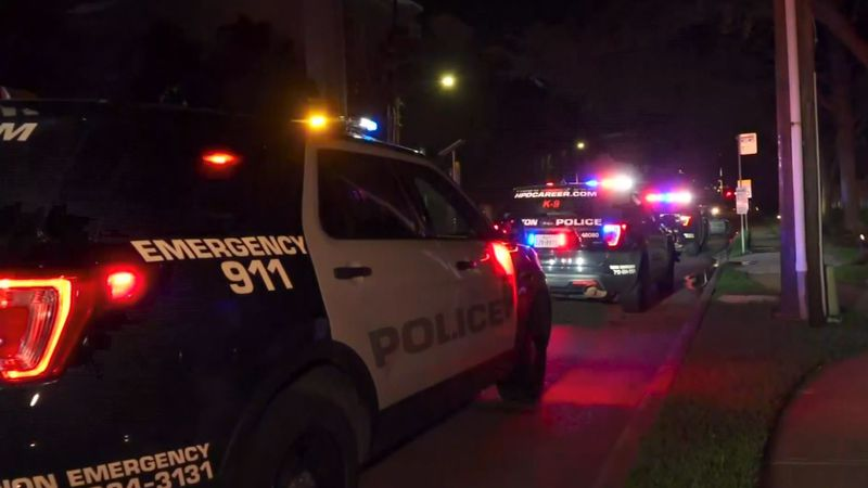Family members of a Harris County deputy constable were shot during a home invasion.