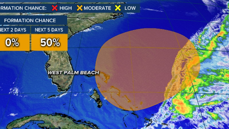 Subtropical system could develop this weekend near Bahamas