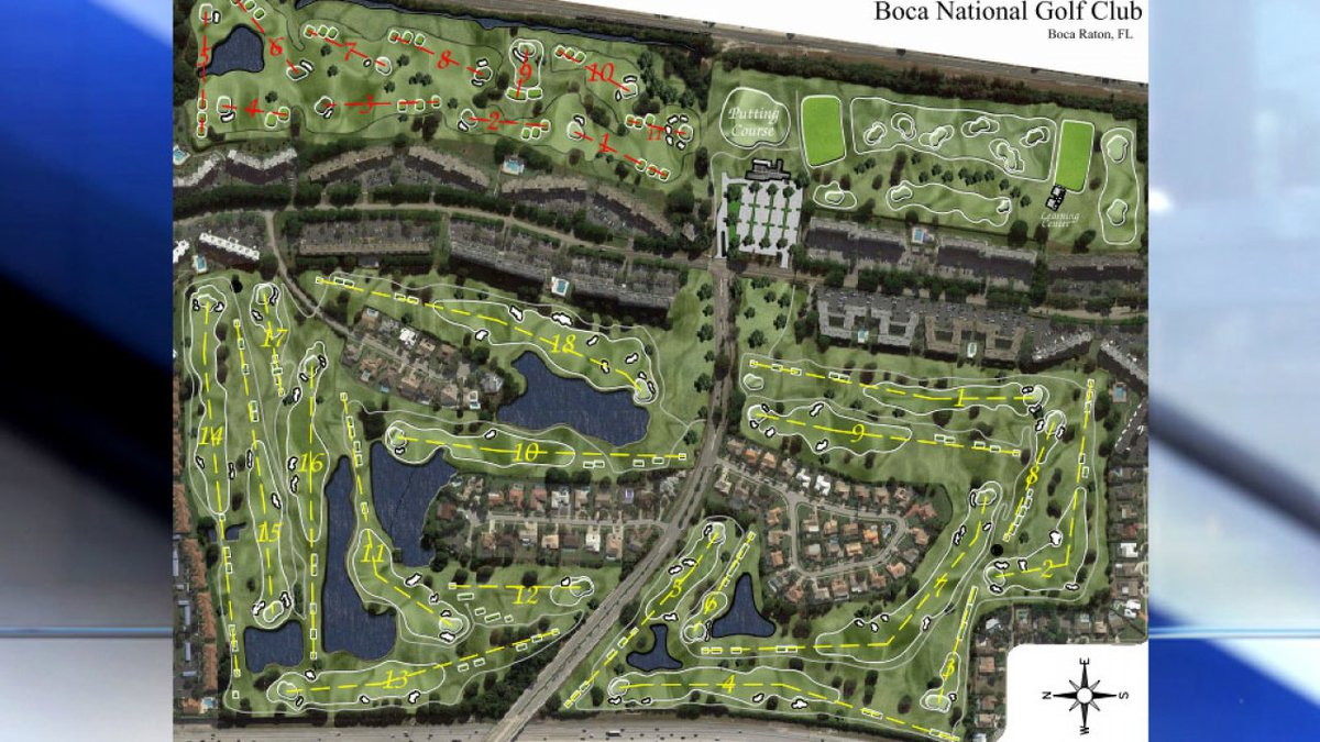It's back to the drawing board for a new public golf course in Boca Raton.