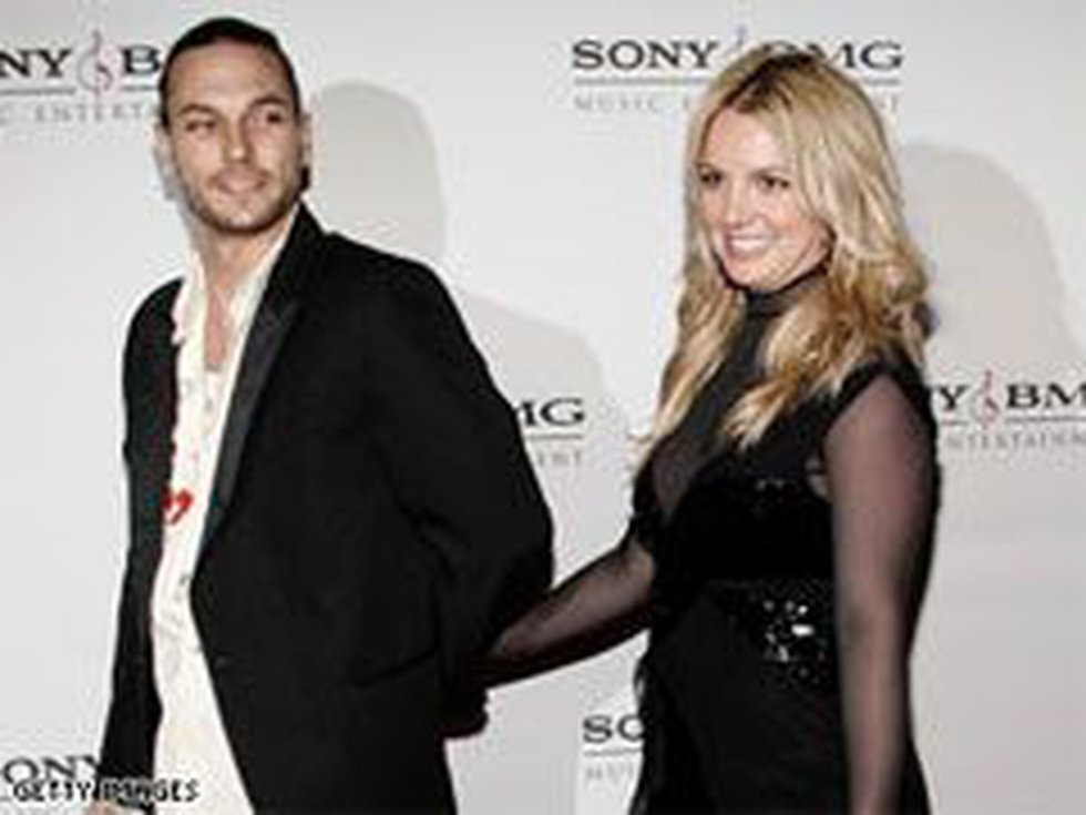 Kevin Federline and Britney Spears, here during happier times, have two children.
