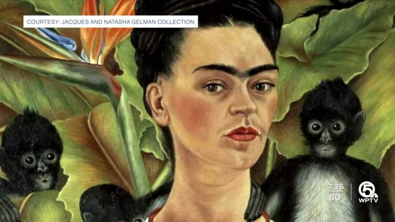 """A large show entitled """"Frida Kahlo, Diego Rivera and Mexican Modernism from the Jacques and..."""