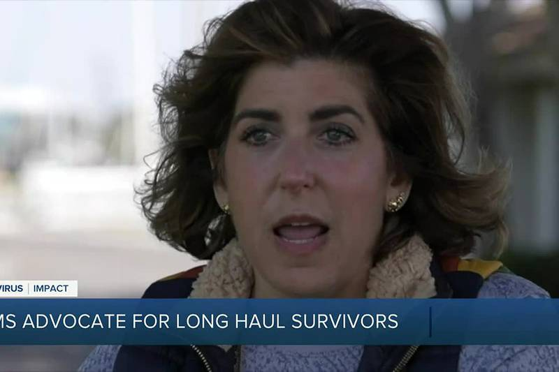 Survivor Corps:  A group of moms are advocating for long haul COVID-19 survivors.